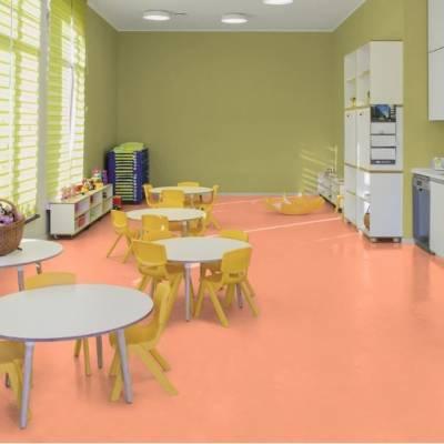 Allura Material 0.70mm - Tiles 50cm x 50cm - Pink Coral