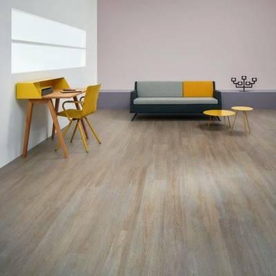 Allura Wood 0.70mm - Planks 120cm x 20cm - Steamed Oak