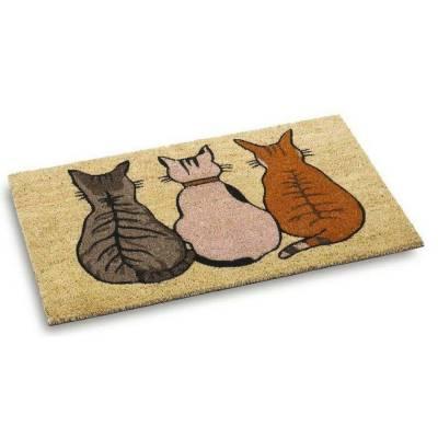 Cool Cats Natural Coir Mat (450mm x 750mm)