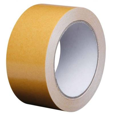 Double Sided Carpet & Vinyl Tape - 50m Roll