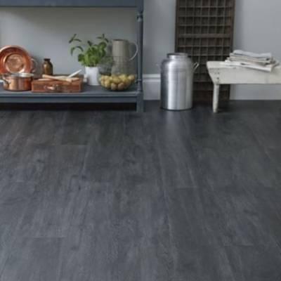 Lifestyle Floors Galleria LVT (1219mm x 177m) - Oak Noir