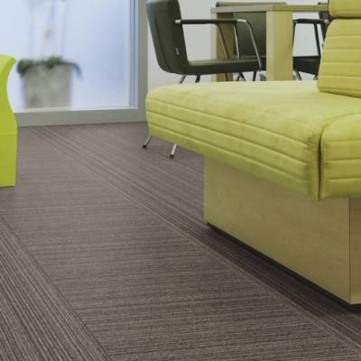 Tessera Layout and Outline Carpet Tiles - Cola Bottle