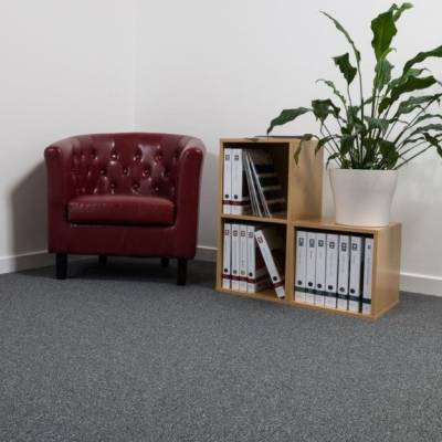 CFS Flooring Modena Carpet Tiles - Grey