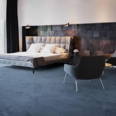 Lano Satine Carpet - Midnight