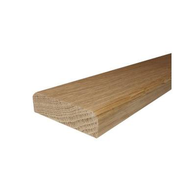 Solid Oak Double Bevelled Threshold (2.30m Long)