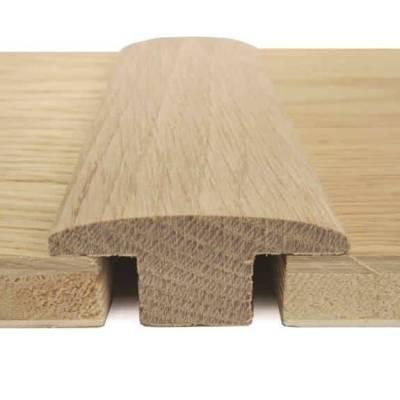 Solid Oak Double Carpet Bar (1.10m Long)