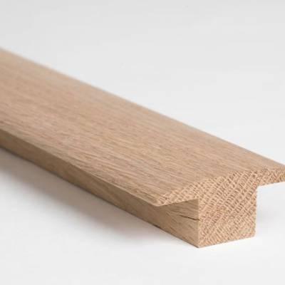 Solid Oak Double Carpet Bar (2.30m Long)