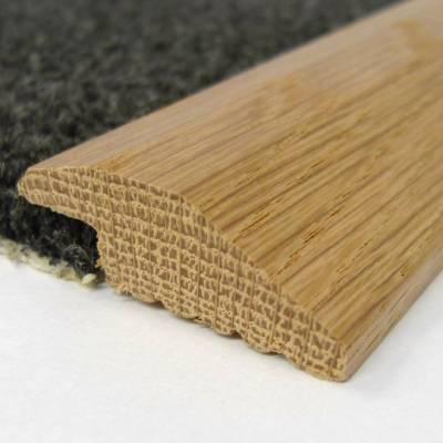 Solid Oak Single Carpet Bar (2.30m Long)