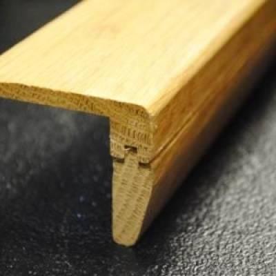 Solid Oak Stair Nosing 2.30m Long - Oak 2.35m Long