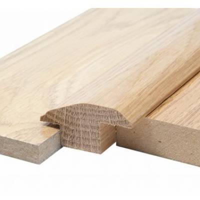 Solid Oak Carpet & Tile Reducer 15mm (1.10m Long)
