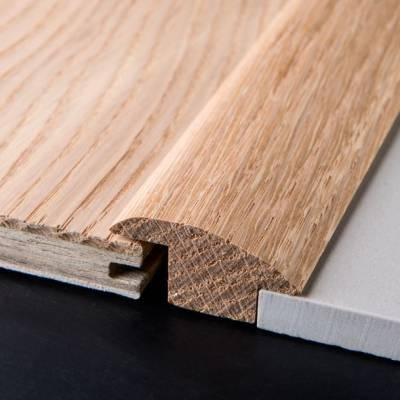 Solid Oak Carpet & Tile Reducer 19mm (2.30m Long)