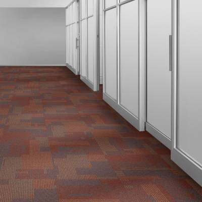 Interface Transformation Carpet Tiles - Lava