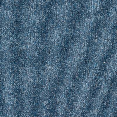 JHS Triumph Loop Pile Carpet Tiles - Blue Sky