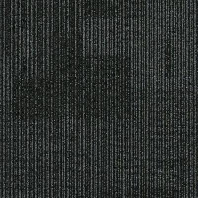 Interface Yuton 104 Carpet Tiles - Jet
