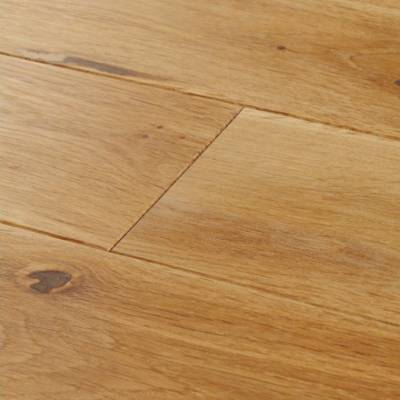 Woodpecker York Solid Oak Flooring - Rustic Oak (Lacquered)