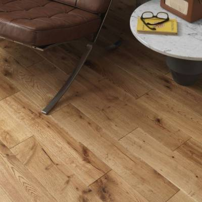 Woodpecker York Solid Oak Flooring - Rustic Oak (Oiled)