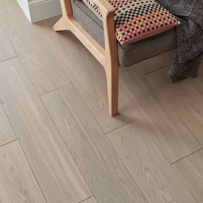 Woodpecker Salcombe Engineered Oak Flooring - Dune Oak (Brushed & Matt Lacquered)