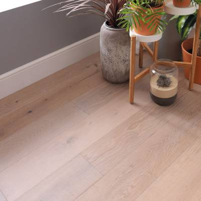 Woodpecker Salcombe Engineered Oak Flooring - Seashore Oak (Brushed & Matt Lacquered)