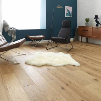 Woodpecker Chepstow Rustic Oak - 240mm wide - Rustic Oak (Brushed & Oiled)