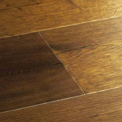 Woodpecker Berkeley Rustic Oak Flooring - 190mm Wide - Burnt Oak (Oiled)