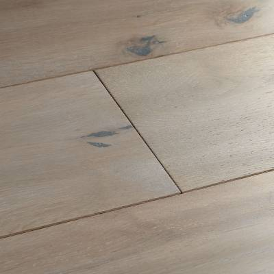 Woodpecker Berkeley Rustic Oak Flooring - 190mm Wide - Grey Oak (Oiled)