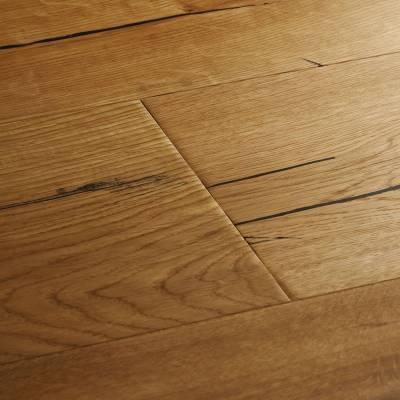 Woodpecker Berkeley Rustic Oak Flooring - 190mm Wide - Natural Oak (Oiled)