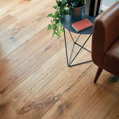 Woodpecker Berkeley Rustic Oak Flooring - 190mm Wide - Natural Oak (Oiled)