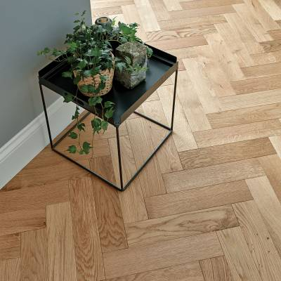 Woodpecker Goodrich Oak Parquet - Natural Oak (Brushed & Matt Lacquered)