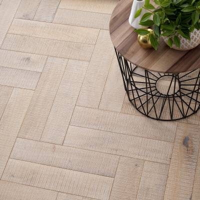 Woodpecker Goodrich Oak Parquet - Salted Oak (Brushed & Matt Lacquered)