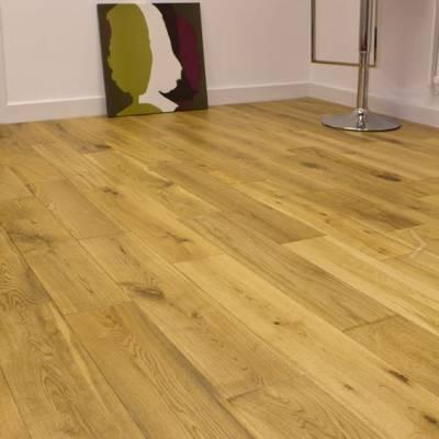 Furlong Flooring Virginia Oak Rustic Brushed & UV Oiled 125mm