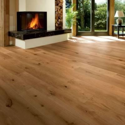 Furlong Flooring Virginia Oak Rustic Brushed & UV Oiled 150mm