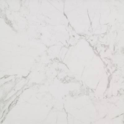 Allura Material 0.55mm - Tiles 100cm x 100cm - White Marble