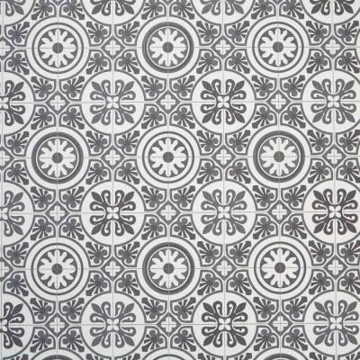 Classic Victorian Tile Vinyl
