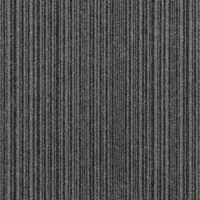Burmatex Go To Carpet Tiles - Coal Grey Stripe