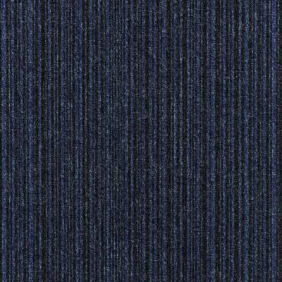 Burmatex Go To Carpet Tiles - Sea Blue Stripe