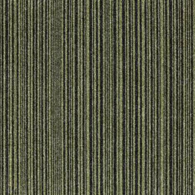 Burmatex Go To Carpet Tiles - Green stripe