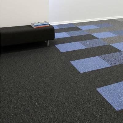 Burmatex Go To Carpet Tiles - Jet Black