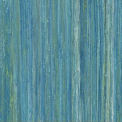Marmoleum Striato Colour (2m wide) - Peacock Blue