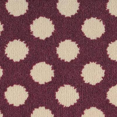 Alternative Flooring Quirky B - Spotty - Damson