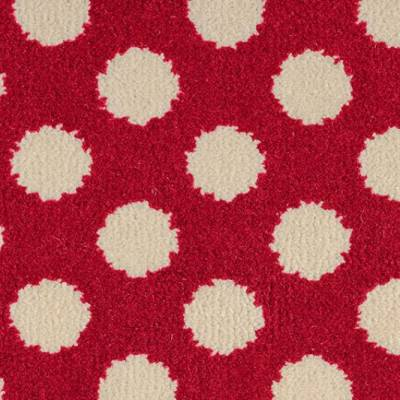 Alternative Flooring Quirky B - Spotty - Red