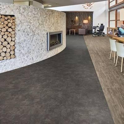 Allura Click Pro - Tiles 60cm x 31.70cm - Nero Concrete