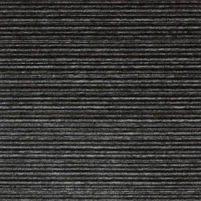 Burmatex Tivoli Carpet Planks - Multiline Tenerife Black