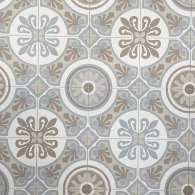 Beauflor Light Victorian Tile Vinyl