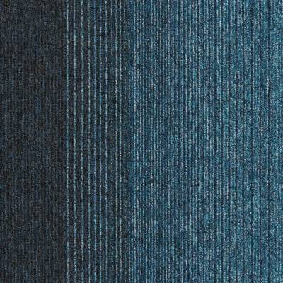 Interface Employ Lines Carpet Tiles - Carribbean