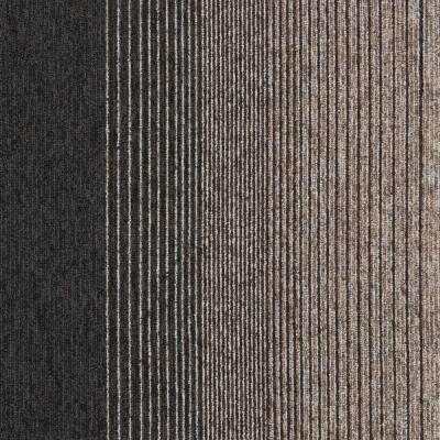 Interface Employ Lines Carpet Tiles - Harvest