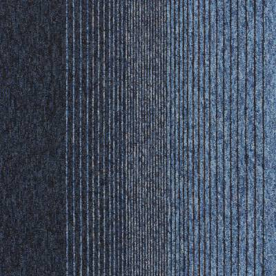 Interface Employ Lines Carpet Tiles - Waterfall
