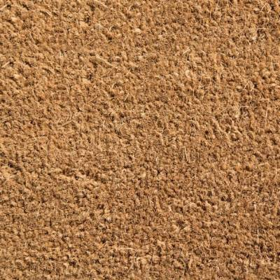 Coir Matting Off Cuts - Natural Coir Off Cut - 0.5m x 1m