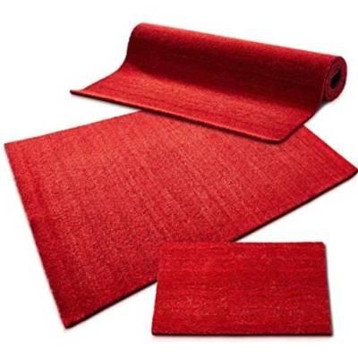 Red Coir Off Cut - 0.5m x 1m