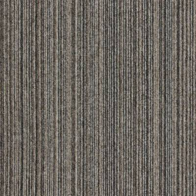 Interface Output Lines Carpet Tiles - Driftwood