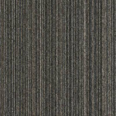 Interface Output Lines Carpet Tiles - Ebony